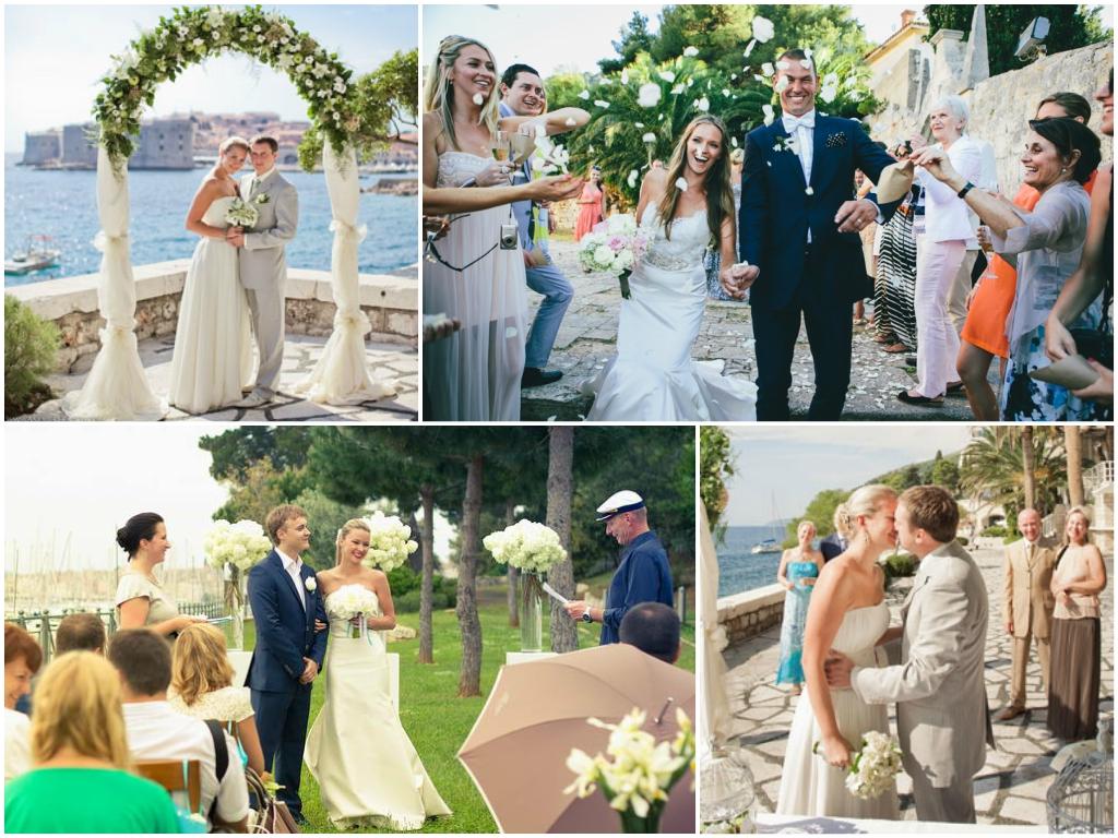 Официальное бракосочетание в Хорватии