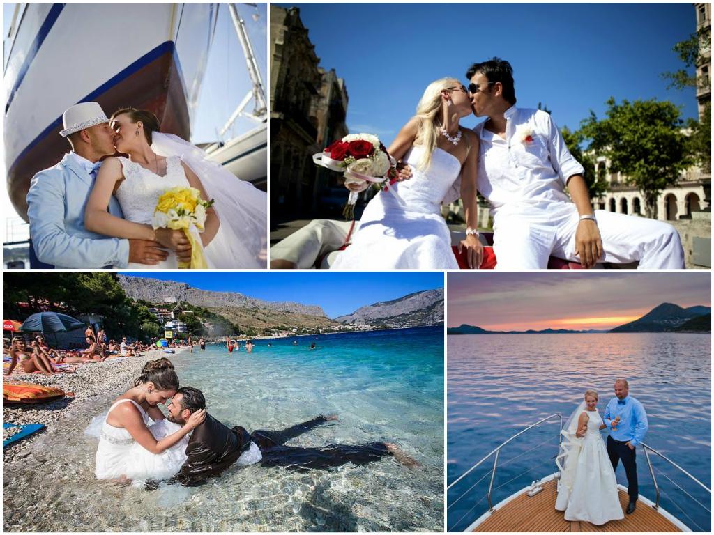Символическая свадьба в Хорватии