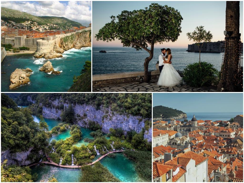свадьба в Хорватии В старинном городе Дубровник
