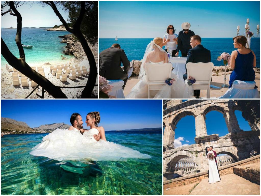 Сколько стоит свадьба в Хорватии