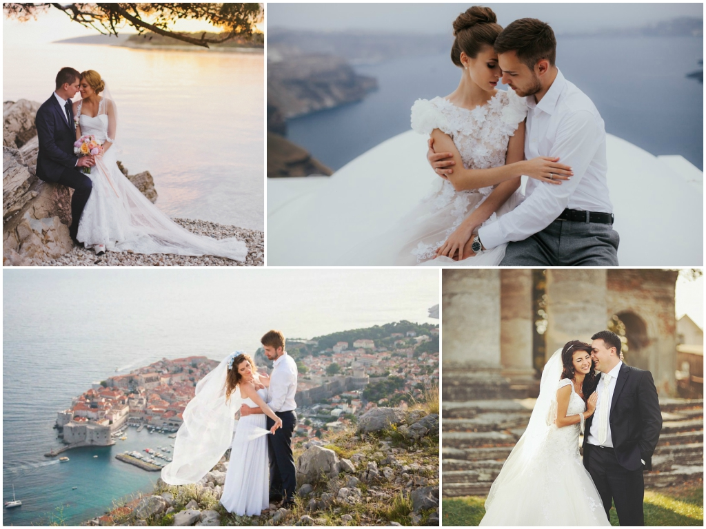 Свадебная фотосессия в Хорватии