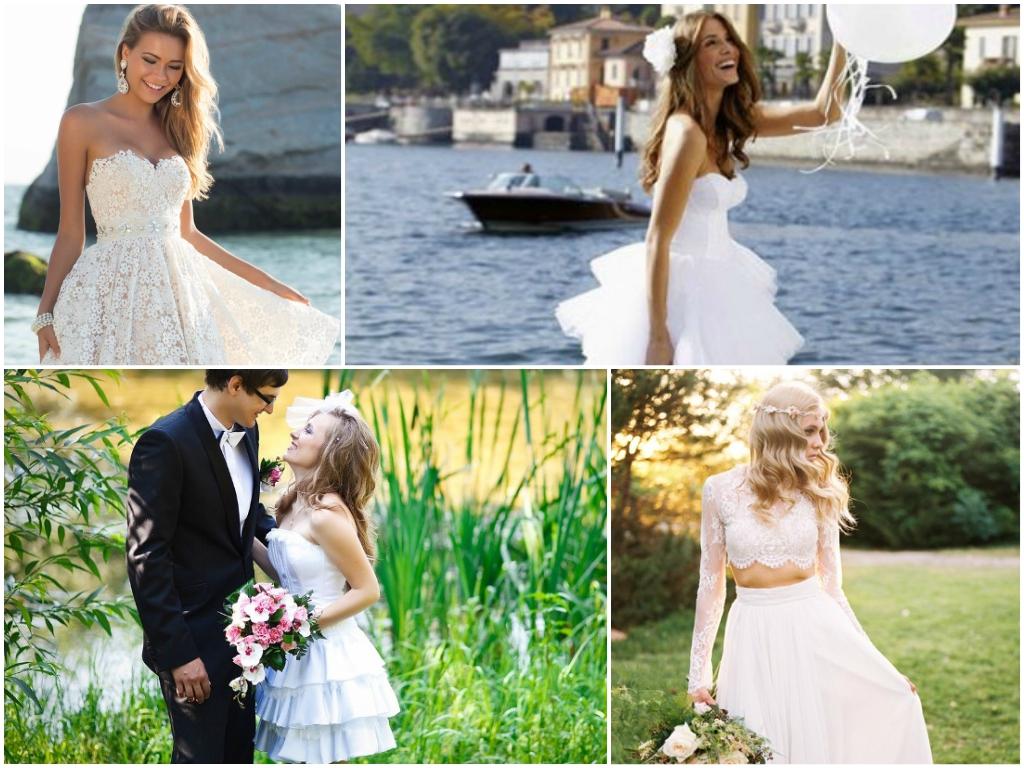 свадьба в июне платье невесты