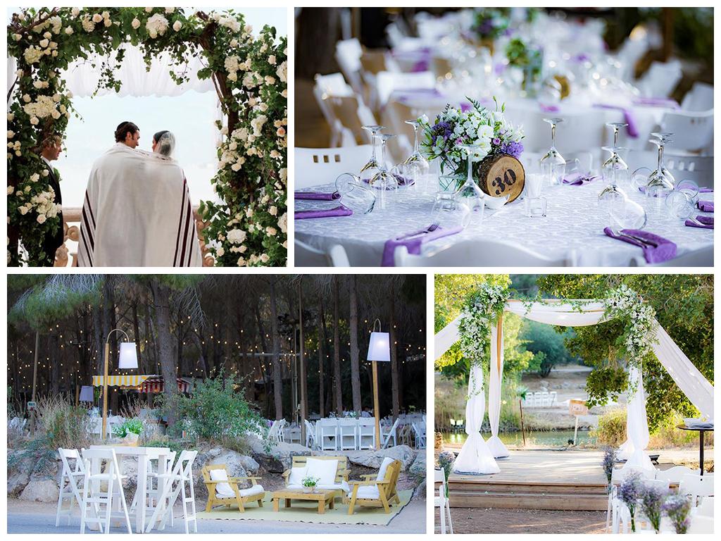 свадьба в израиле декорации