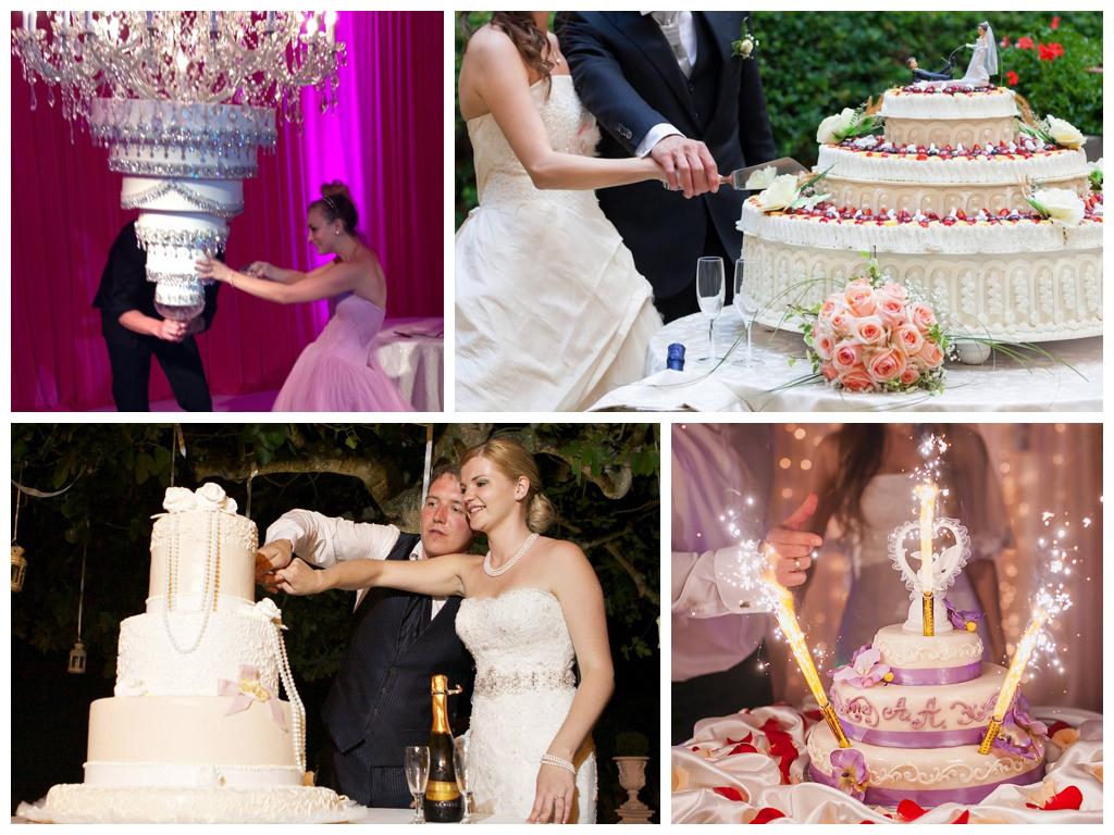 Свадебный торт в королевском стиле