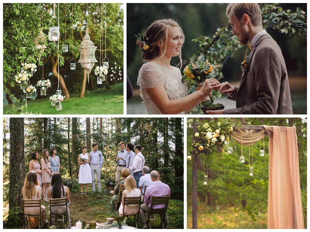 свадьба в лесу идеи оформления и дресс-код