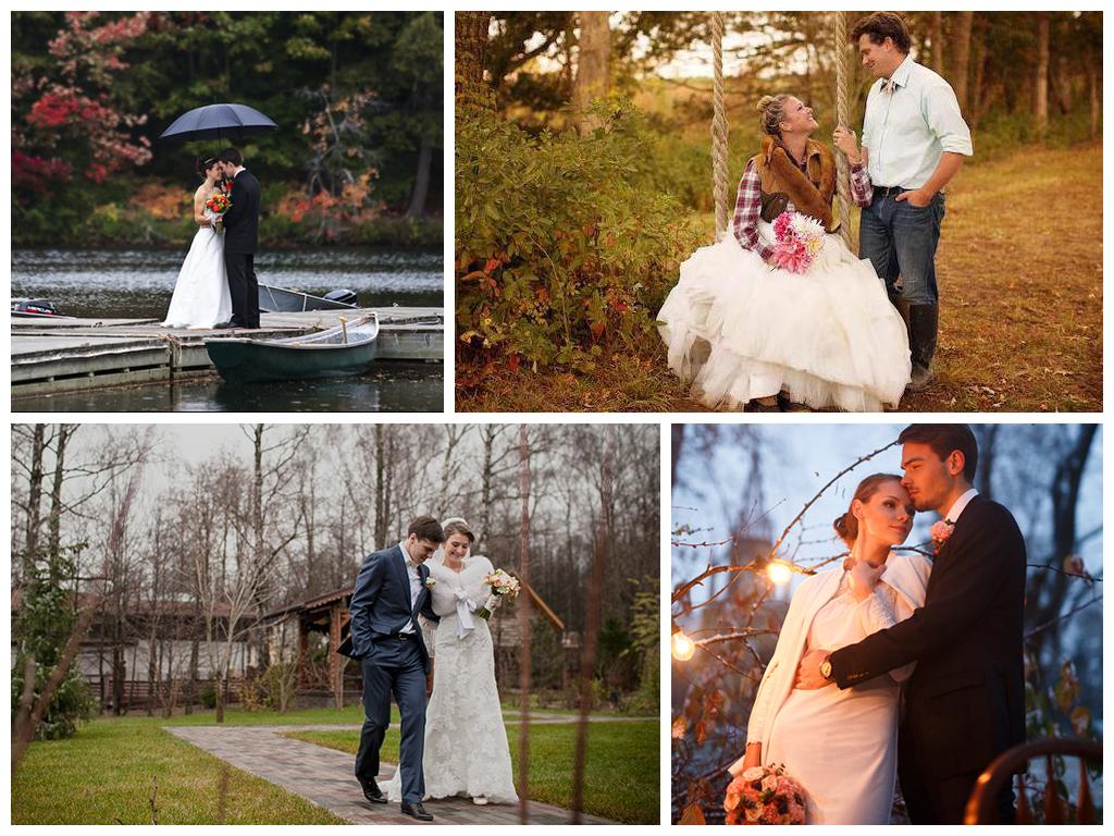 В чем пойти на свадьбу в ноябре