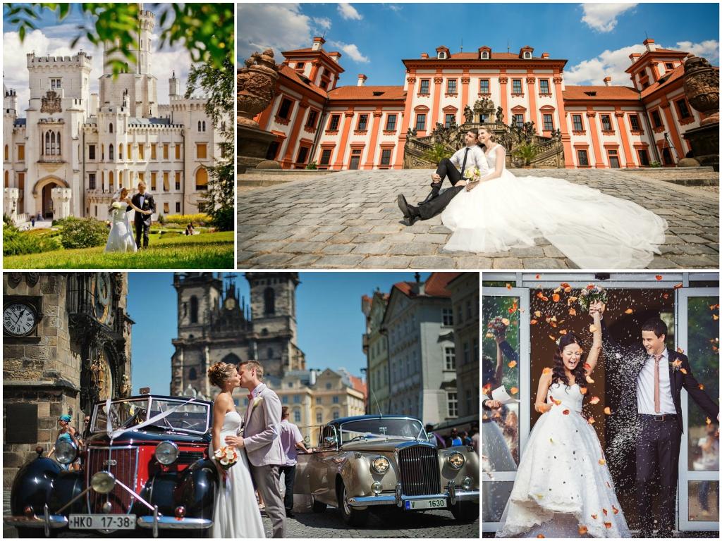 Традиции и обычаи свадьбы в Праге