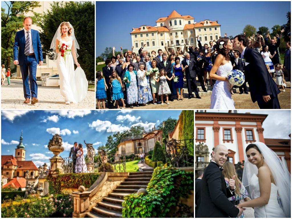 Официальное бракосочетание в Праге