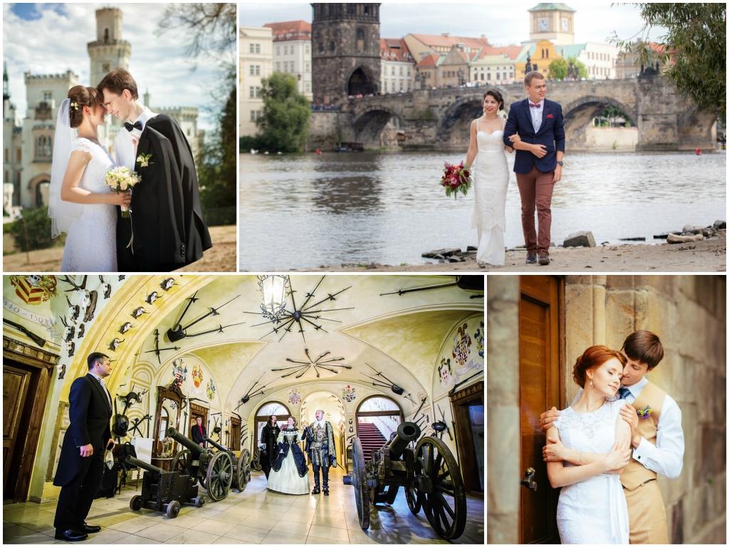 Символическая свадьба в Праге