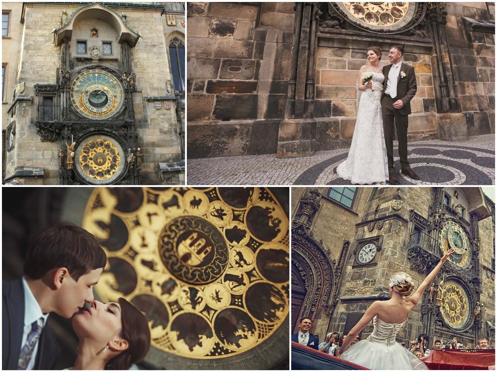 свадьба в праге Староградская Ратуша