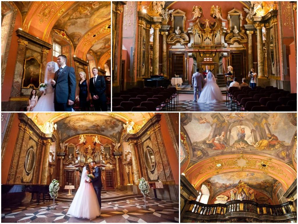 свадьба в праге Дворец Клементинум