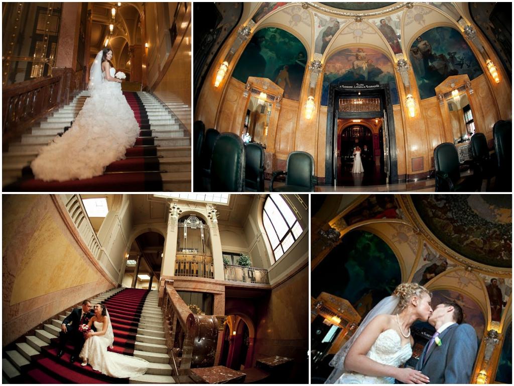 свадьба в праге Муниципальный дворец