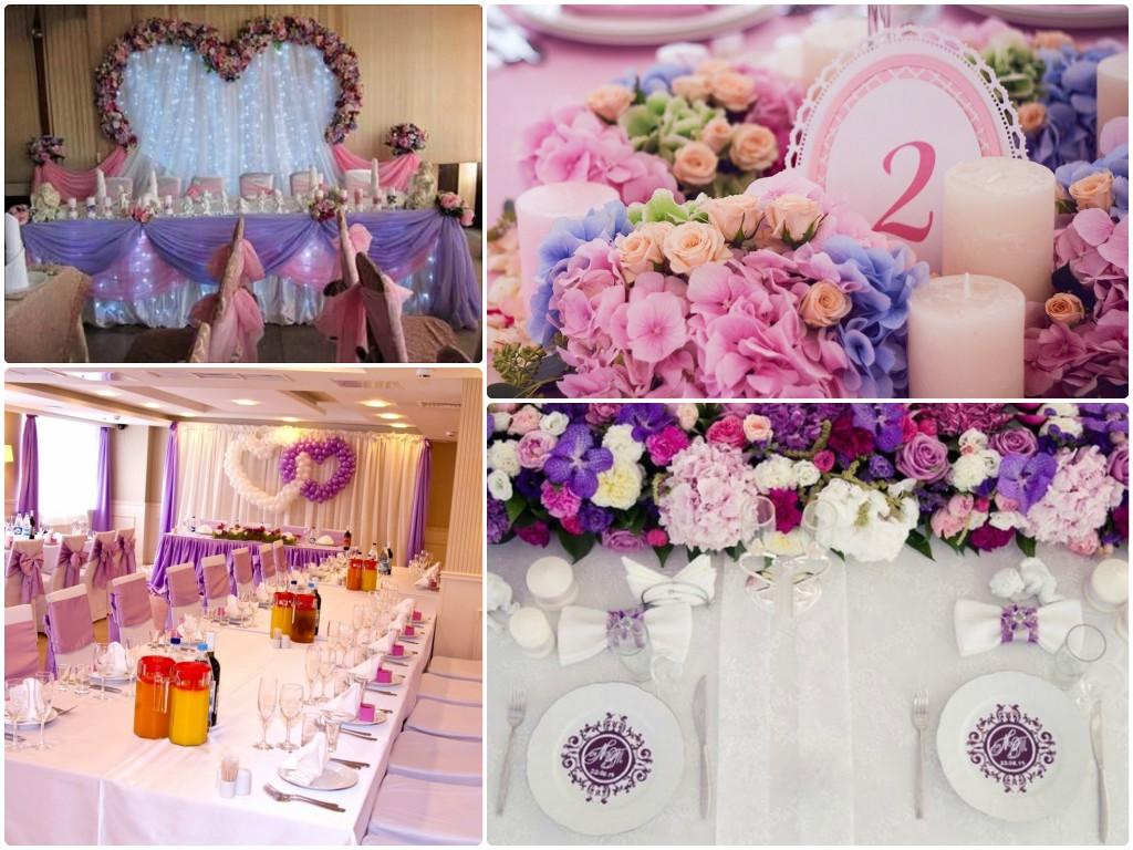 Свадьба сине розовый цвет фото