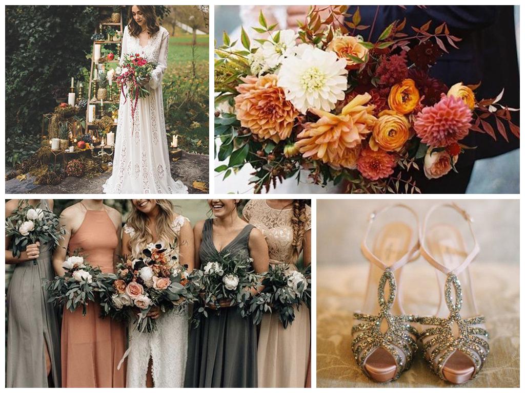 свадьба в сентябре платье невесты