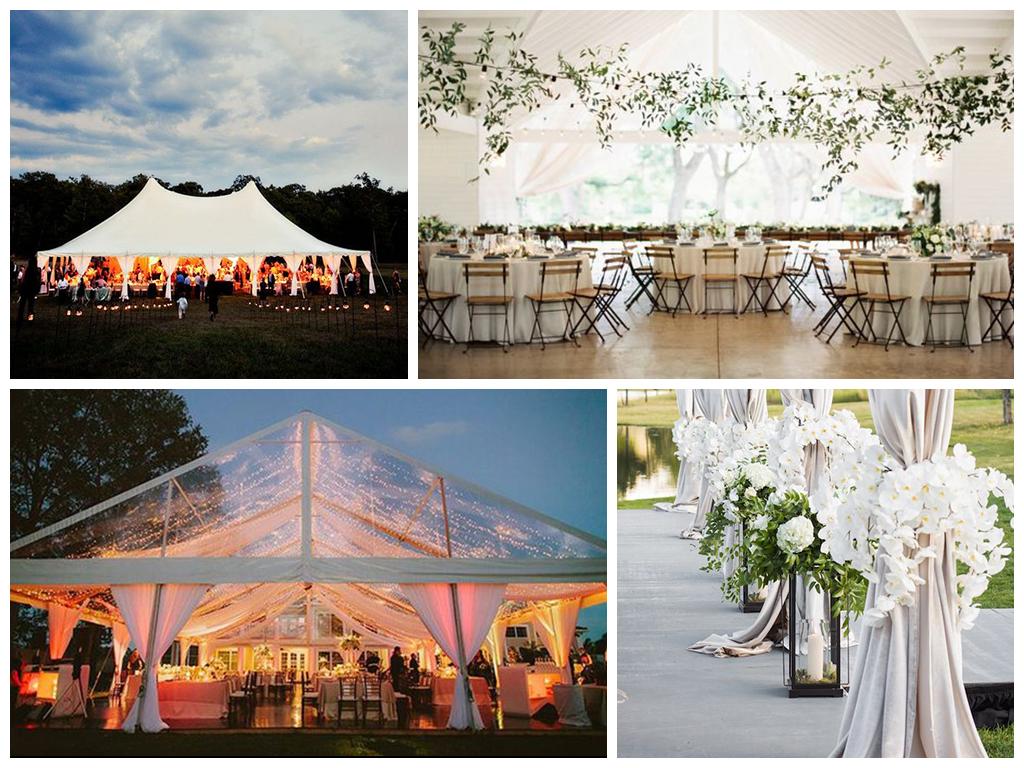 Аренда шатров для свадьбы на природе