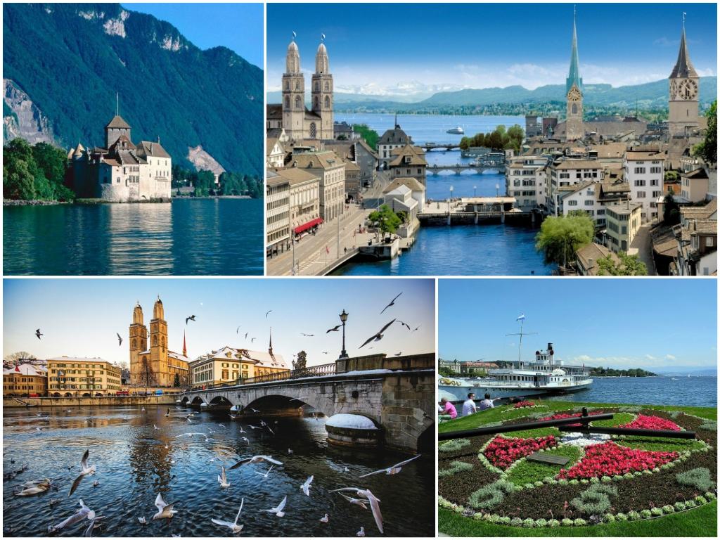свадьба в швейцарии Цюрих