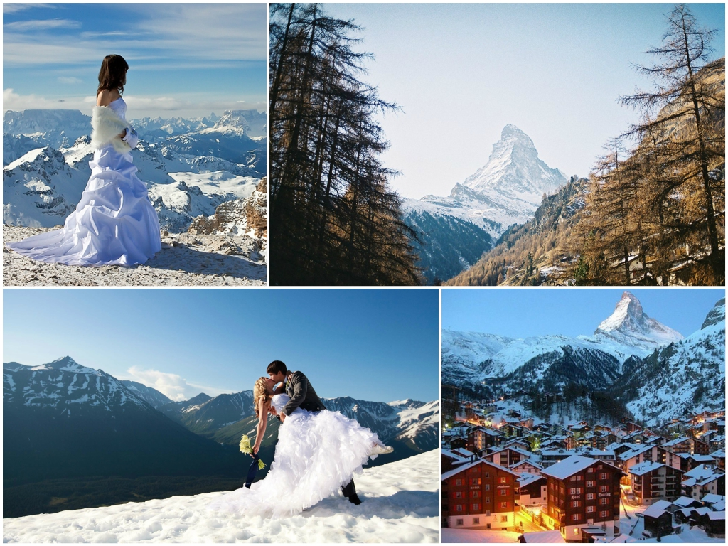 свадьба в швейцарии Церматт