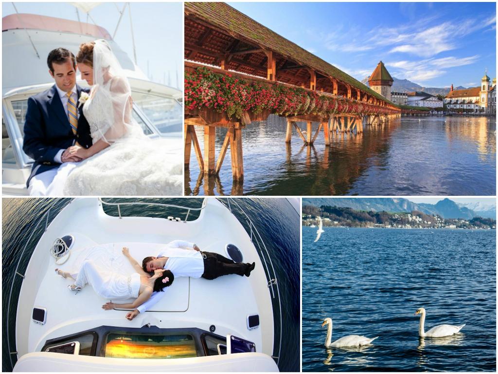 свадьба в швейцарии Люцернское озеро