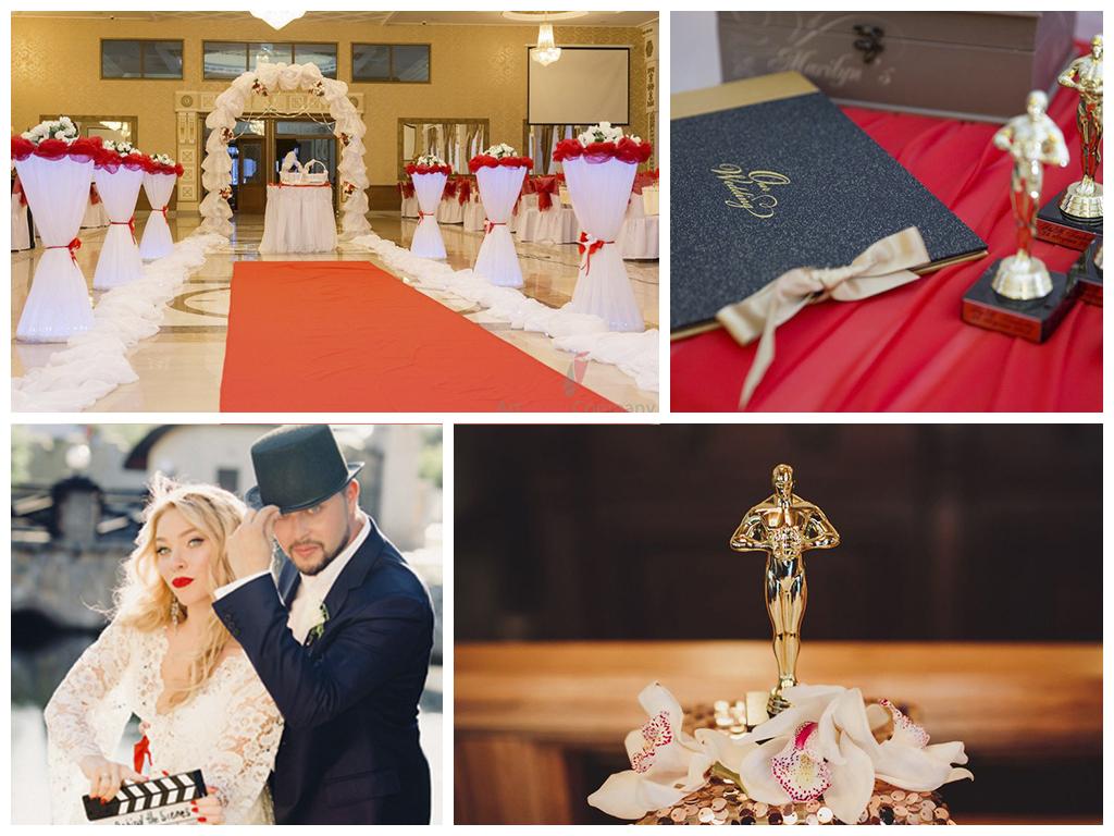 свадьба в стиле оскар фото