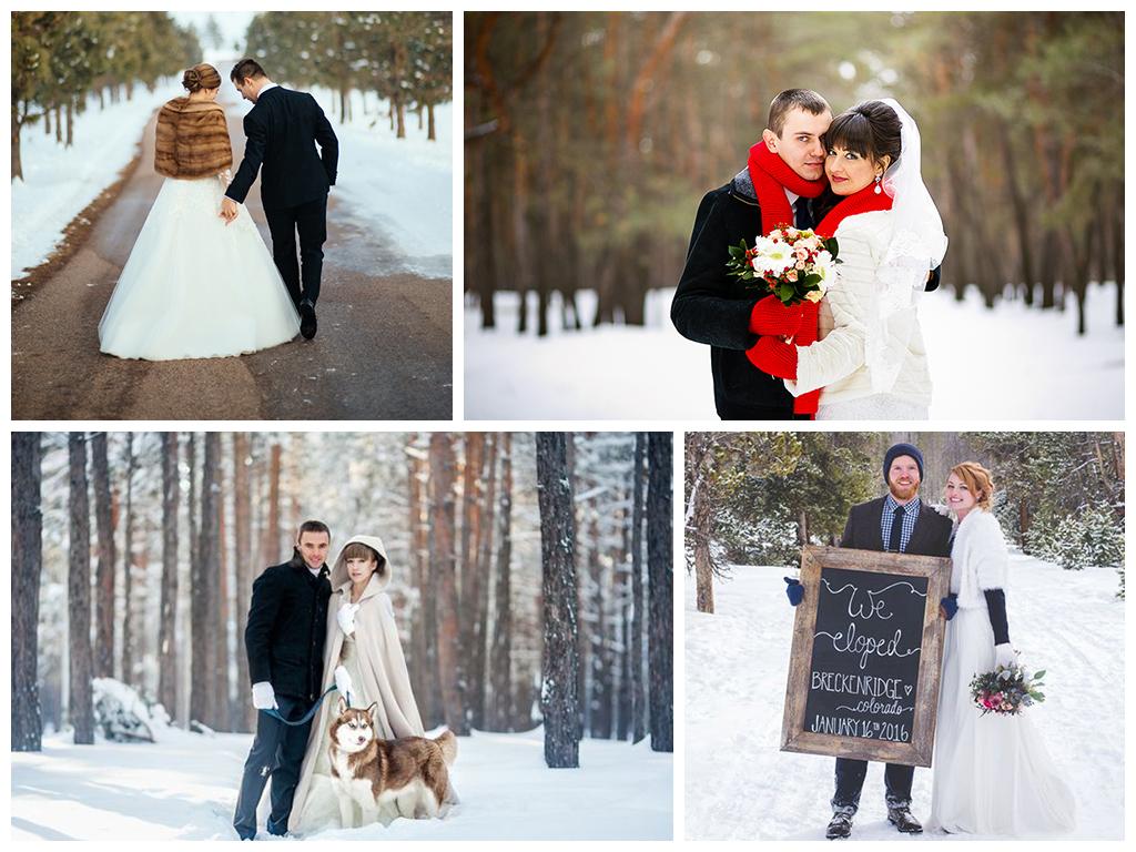 идеи для свадьбы в январе 2018