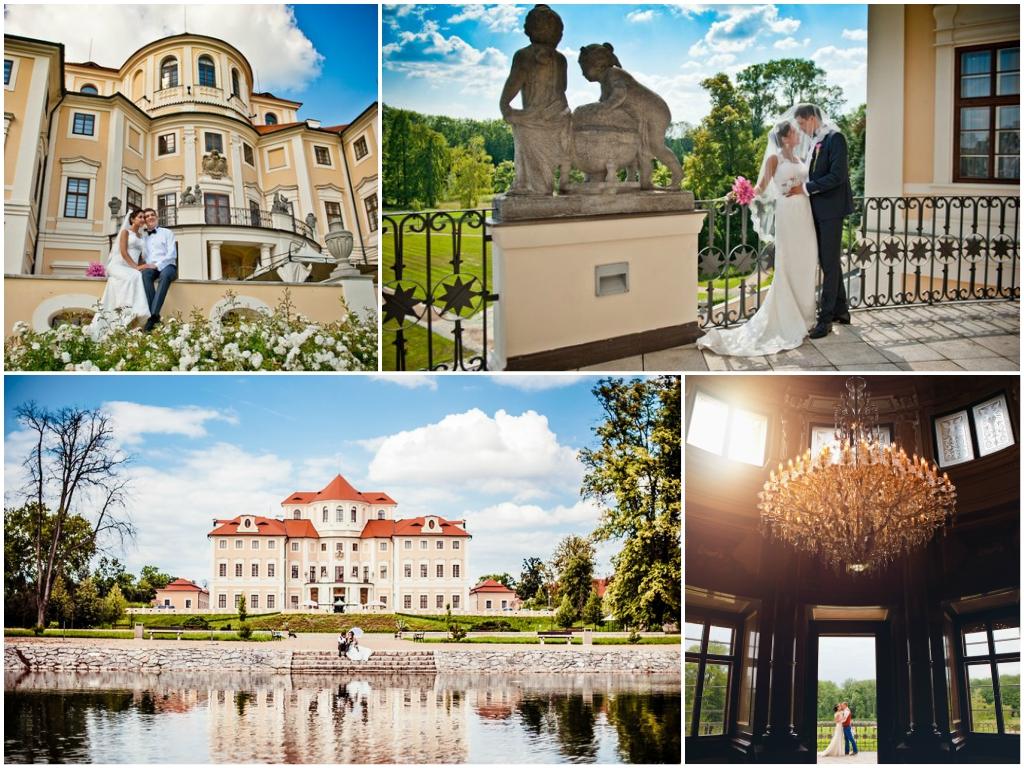 свадьба в замке Либлице в чехии