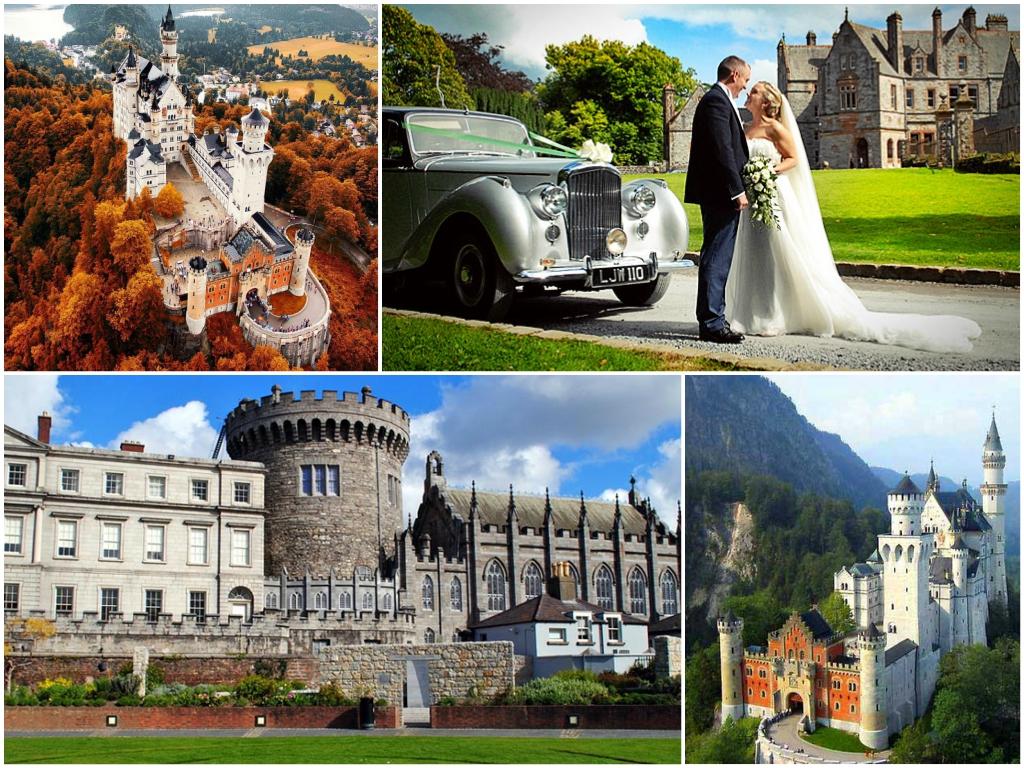свадьба в замке Ля Напуль франция