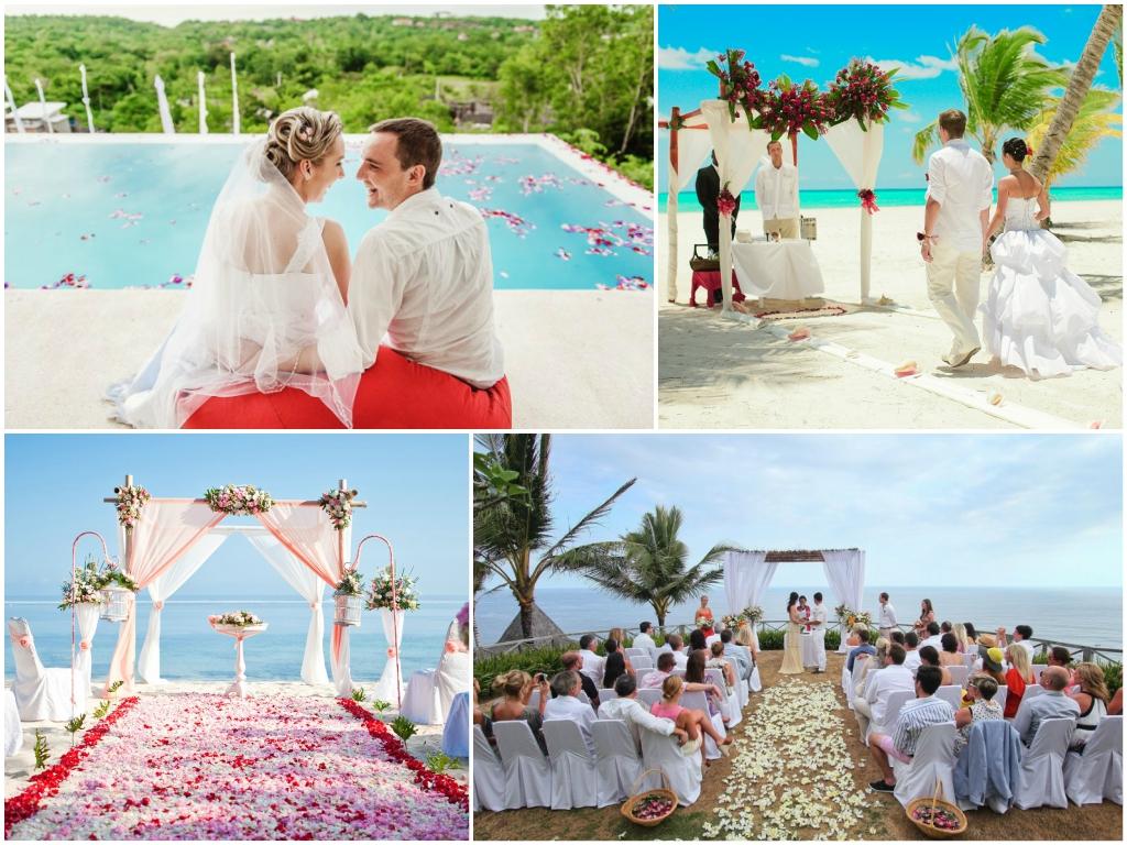 свадьба на бали На побережье Джимбаран