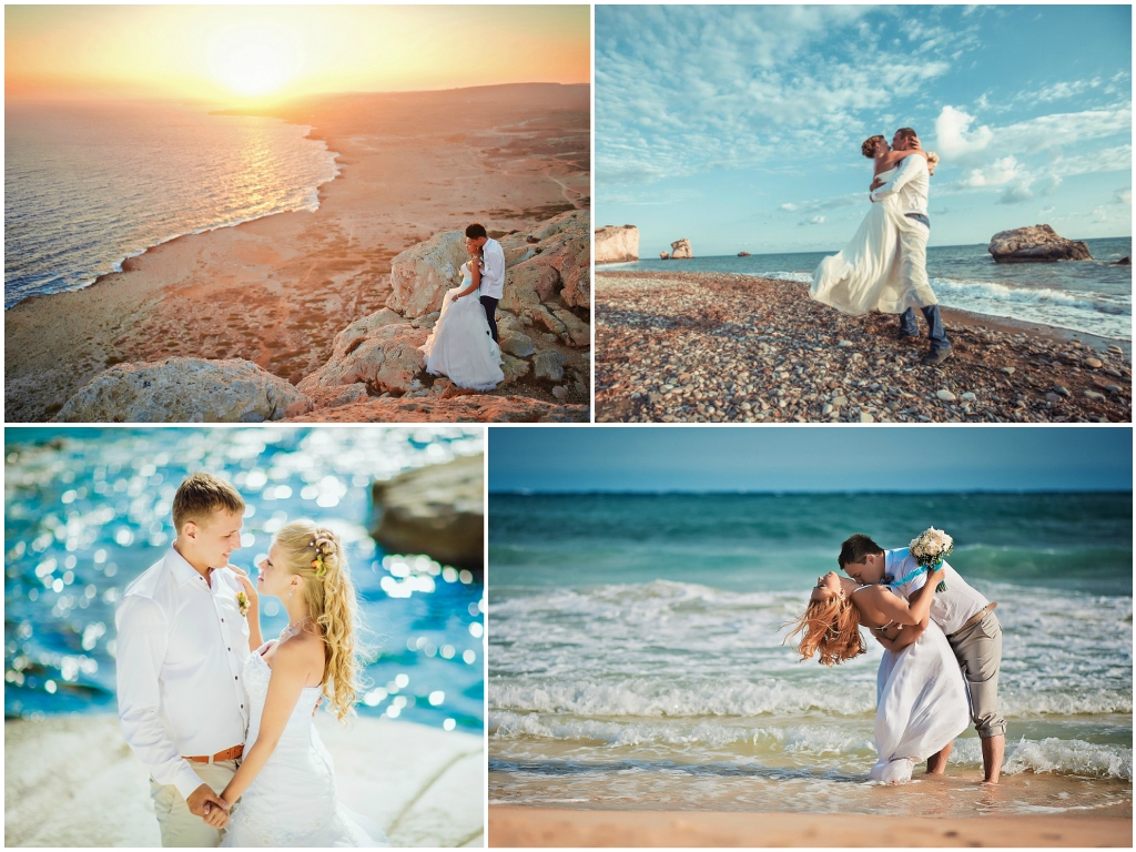 фотосессия свадьба на кипре
