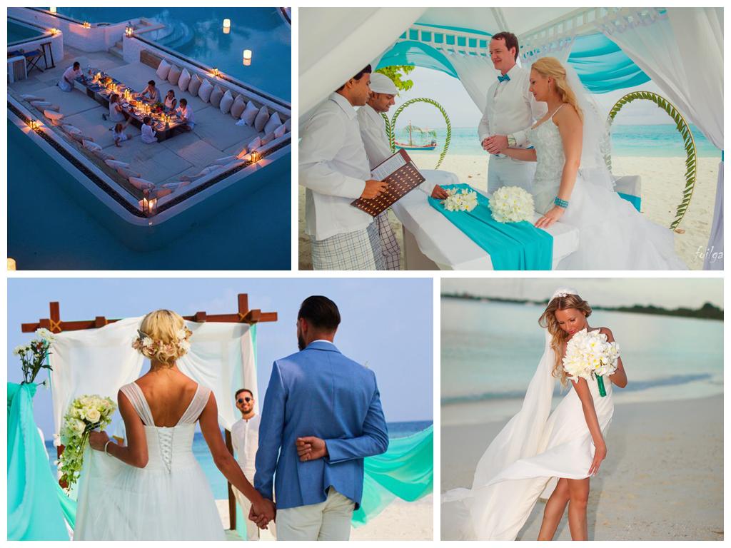 свадьба на мальдивах символическая свадьба
