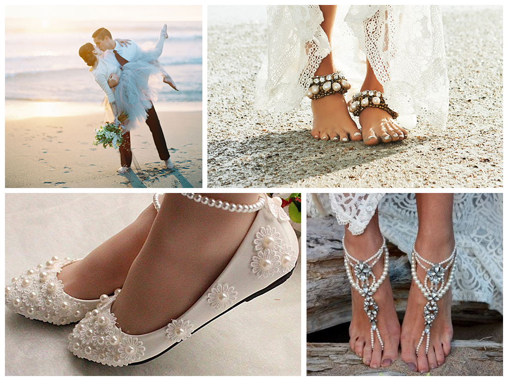 свадьба на пляже обувь для свадьбы на пляже