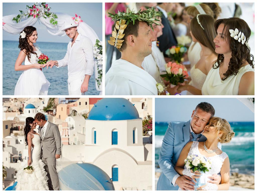 свадьба в греции цены