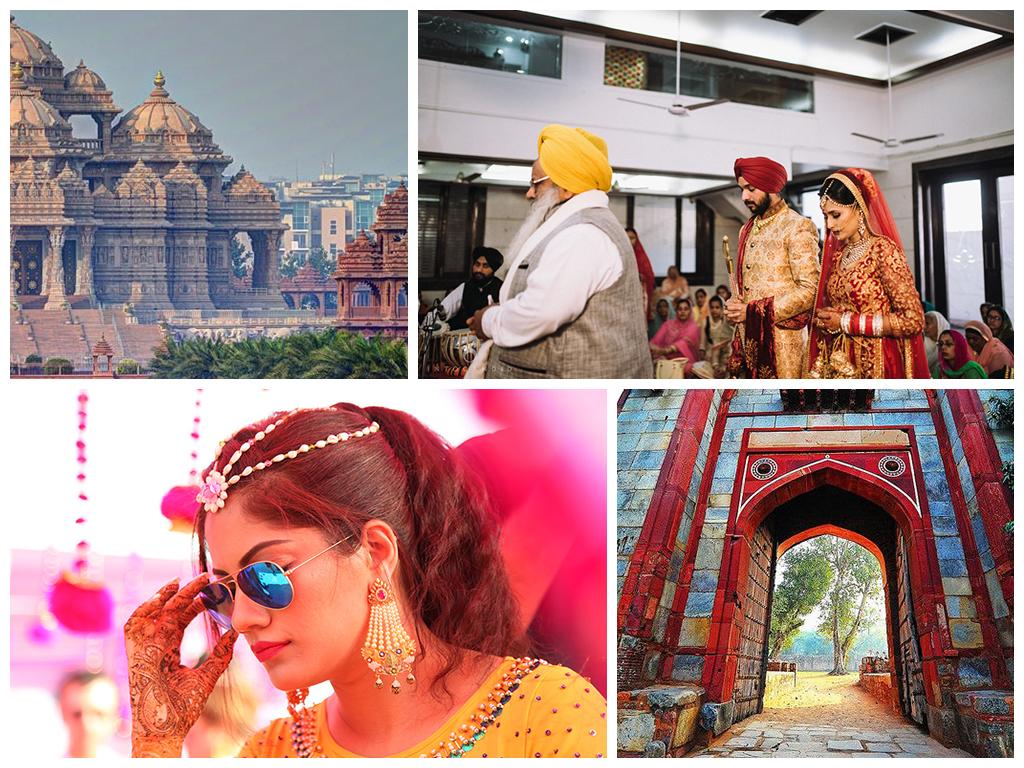 свадьба в индии В Дели