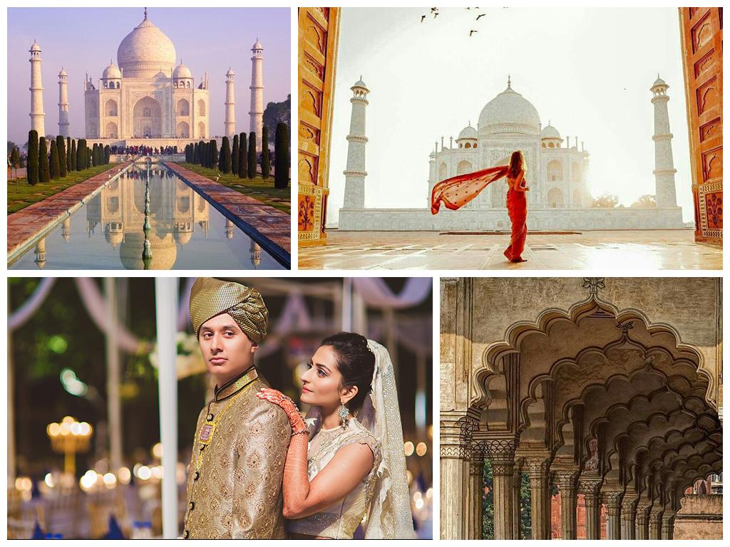 свадьба в индии В Агре