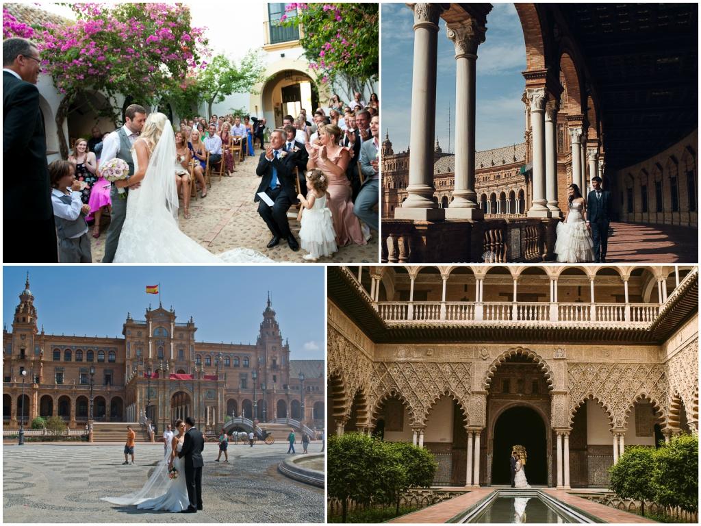 свадьба в Севилье