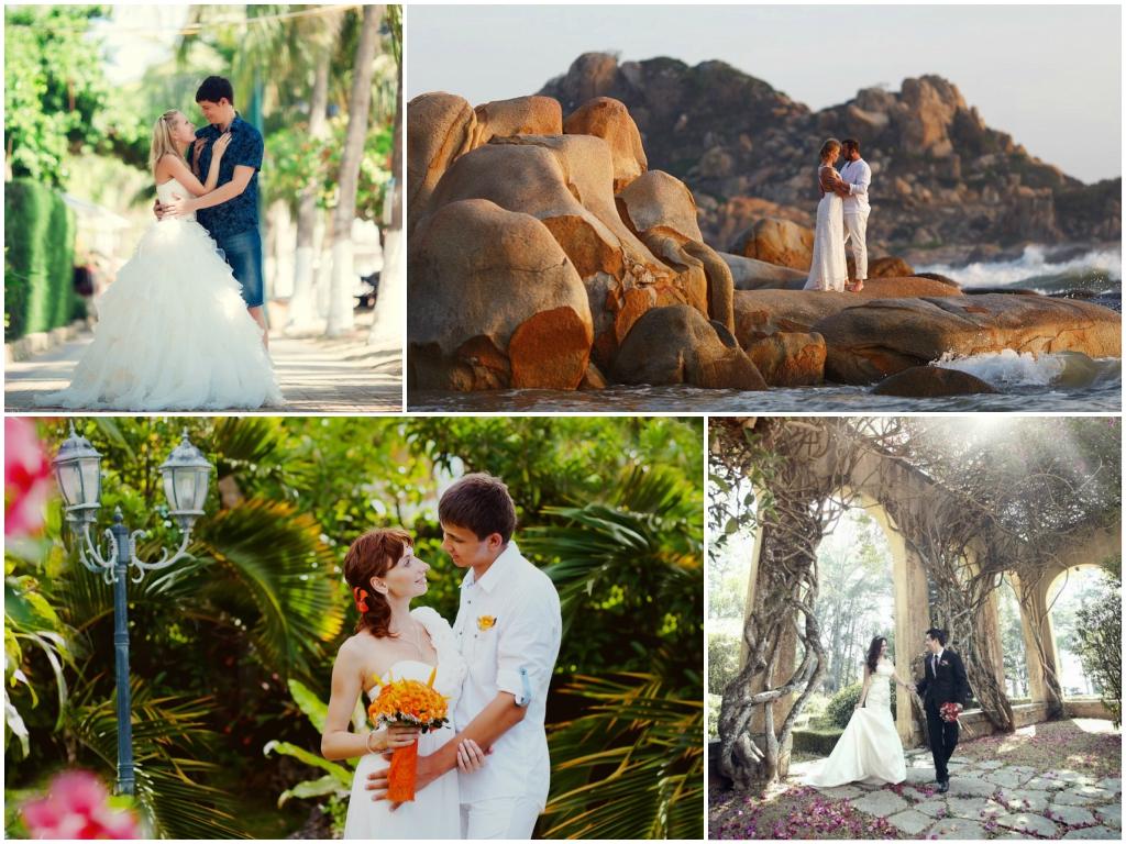 свадьба во вьетнаме Далат