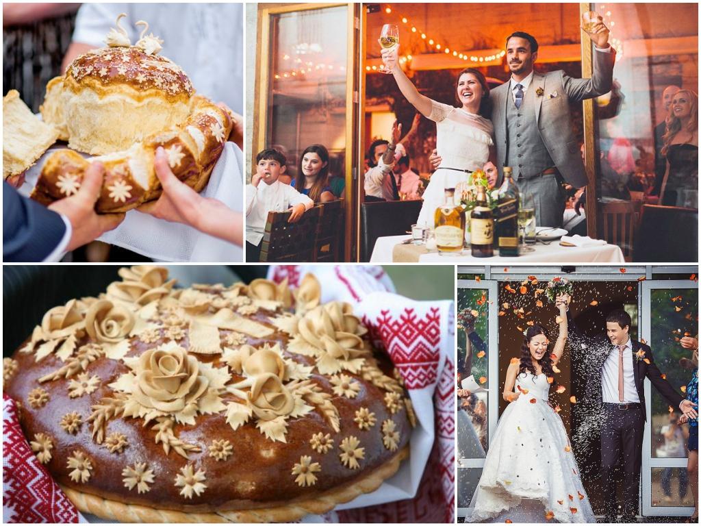 свадебные обычаи и традиции в России фото