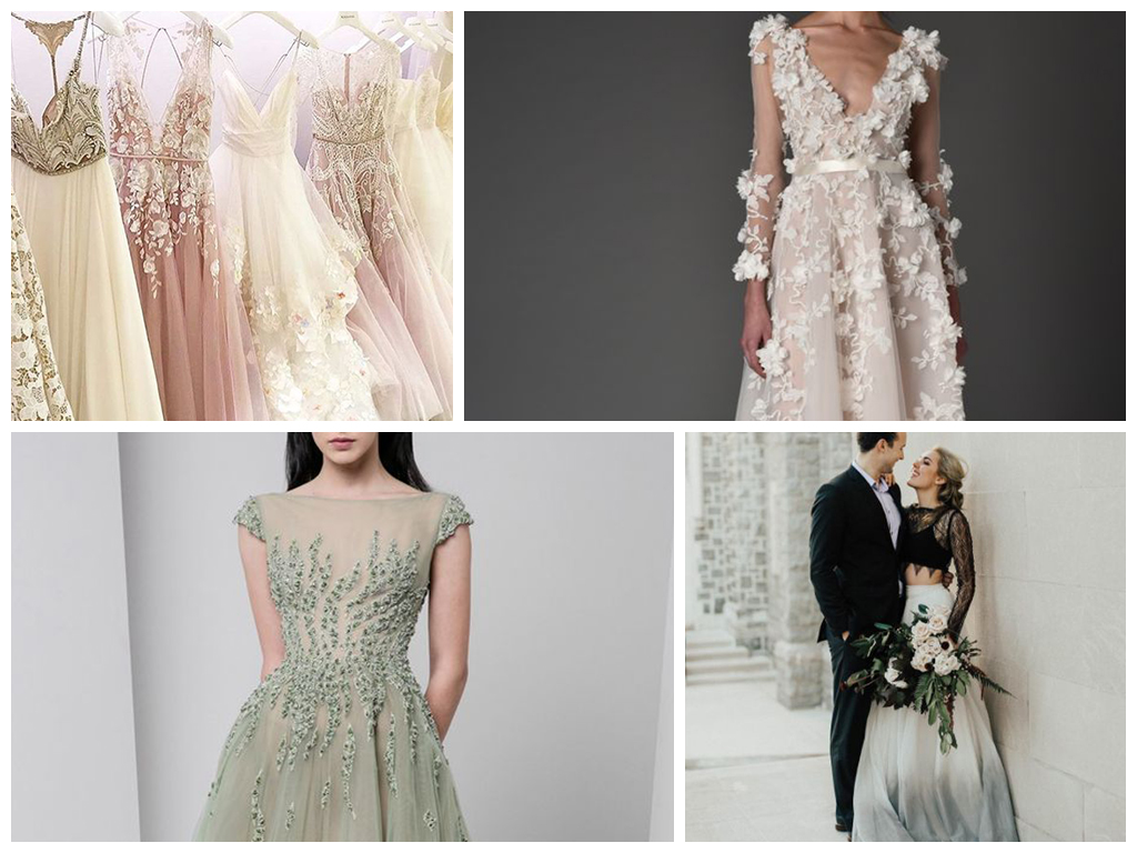 свадебные тренды 2017 оформление банкетного зала, образ невесты, актуальные стили свадеб