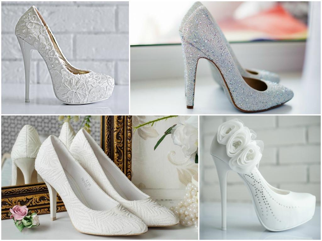 Туфли на свадьбу для невесты