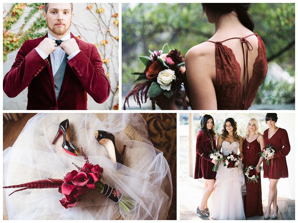 Marsala. Топ актуальных осенних свадебных цветов. Стильные цвета для свадьбы осенью