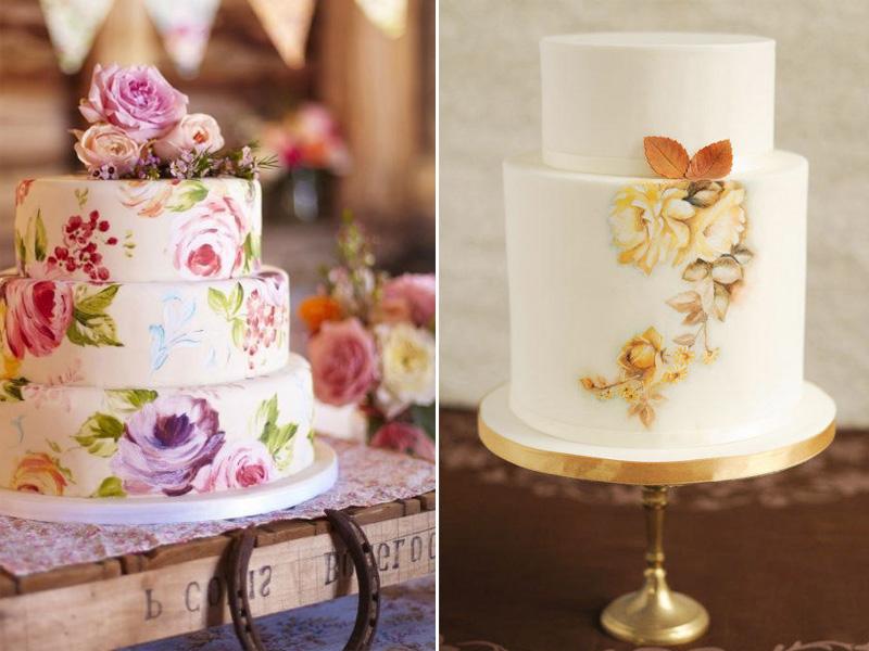 уникальные свадебные торты 2015