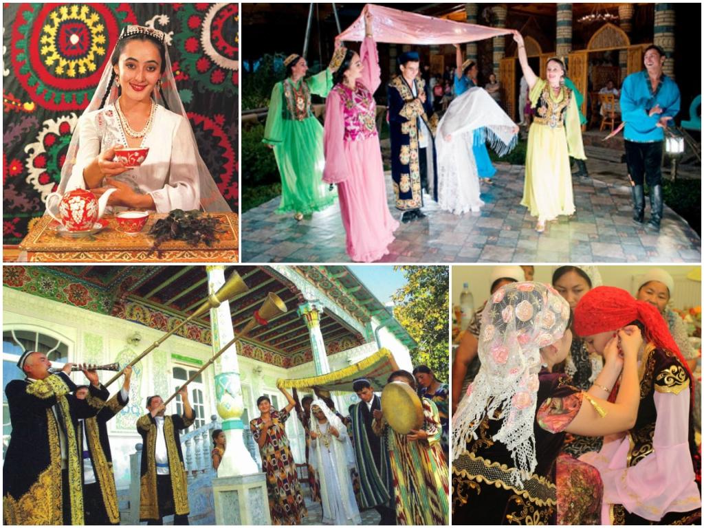 Узбекские свадебные традиции в узбекистане