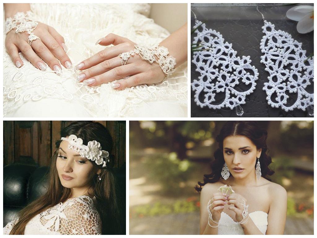 вязаная свадьба
