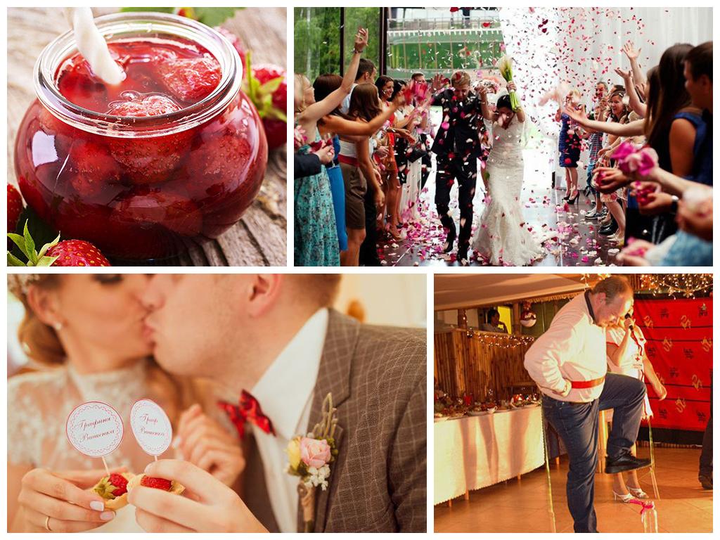 Ягодная свадьба: оформление и фото