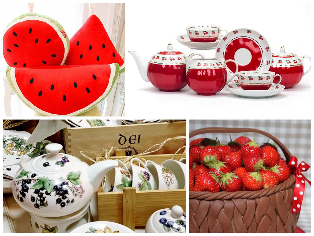 подарки на ягодную свадьбу